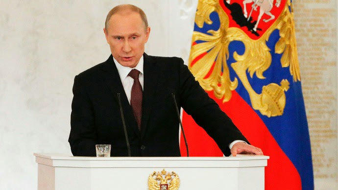 Vladimir Putin speech to Russian Parliment about Crimea