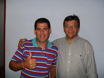 Valdi Salles e o Dr. Silvano ( MÉDICO )