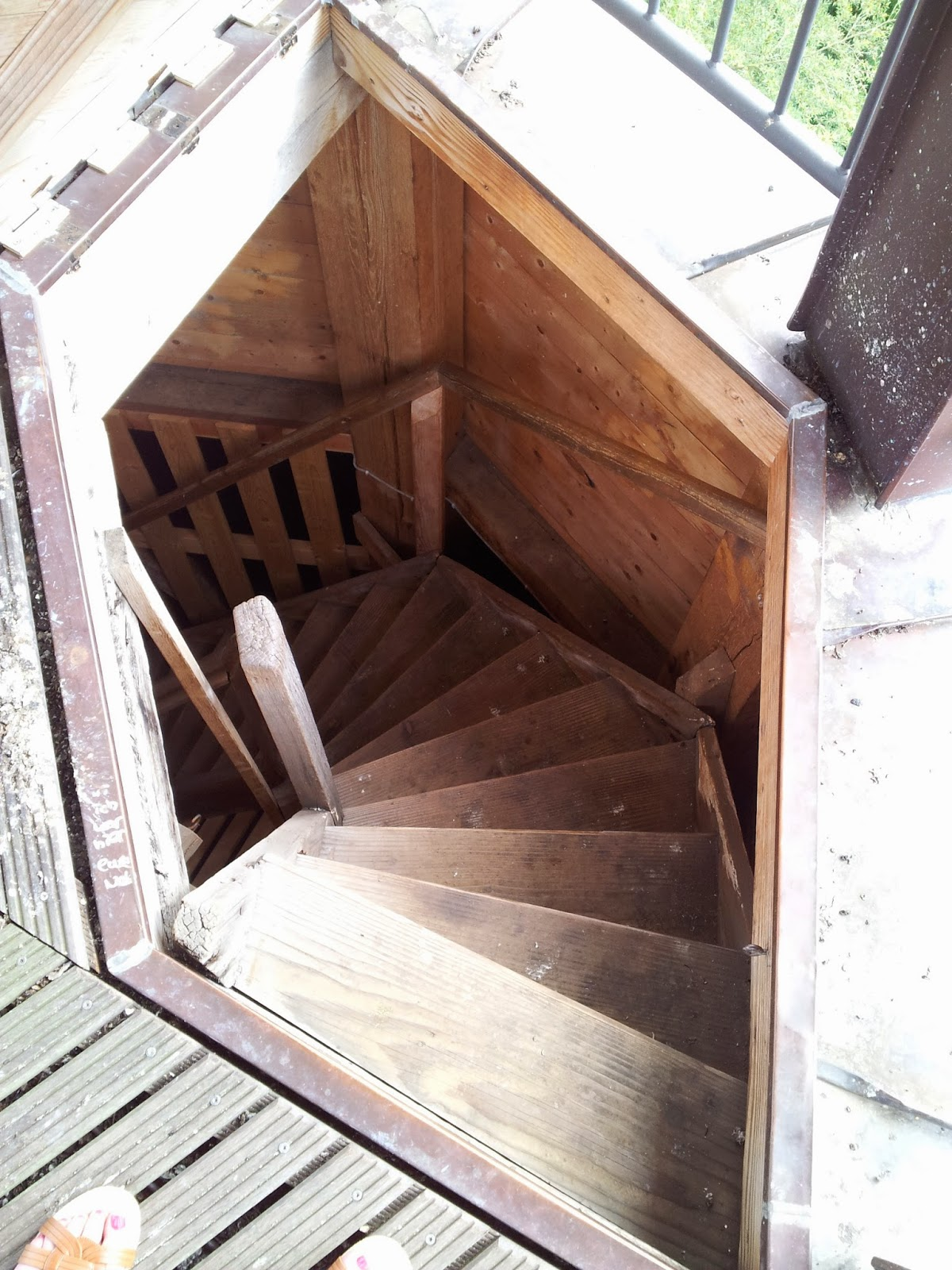 Stairs in Lauenburg castle tower