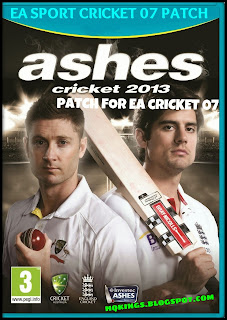 Ashes Cricket 2013 Patch For EA Cricket 07