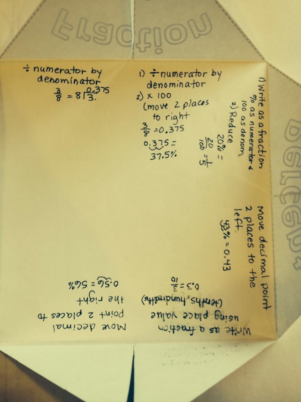 Math homework help on percentages