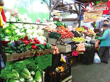 Mercado de San Carlos - calle Serrano esq. Matta