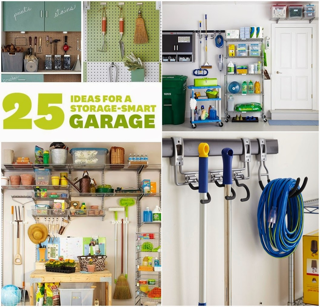 25 Ideas for a Storage-Smart Garage