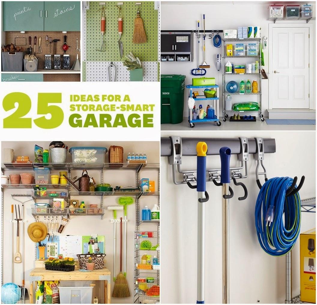 25 Ideas for a Storage-Smart Garage