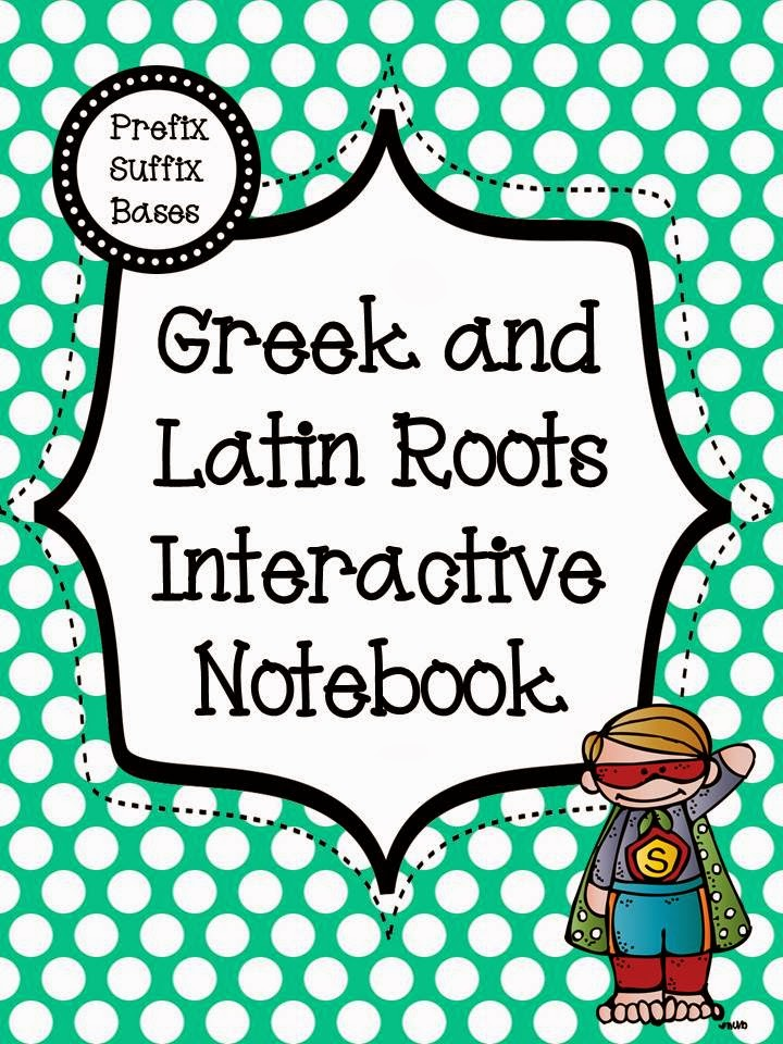 Greek And Latin Roots And Figurative Language Freebie Literacy