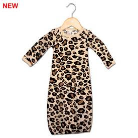 Image of Leopard Print Gown