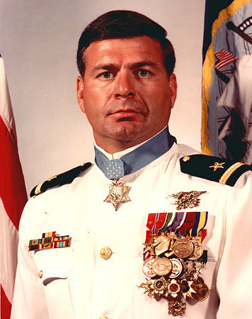 Most decorated living navy seal