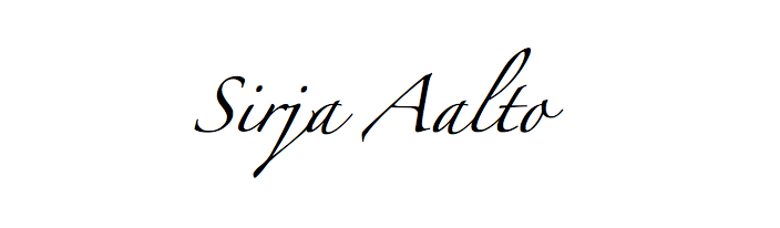 Sirja Aalto