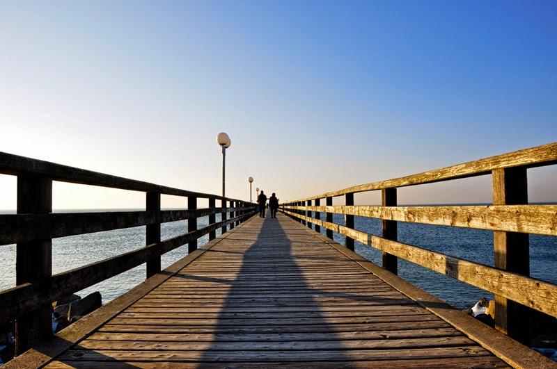 Ostsee - Erinnerungen und Vorfreude | Seebrücke