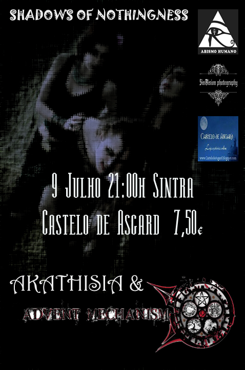 Shadows of Nothingness (Live Act + Dança) | 9 Julho (21h) | Castelo de Asgard - Sintra Shadows+of+nothingness