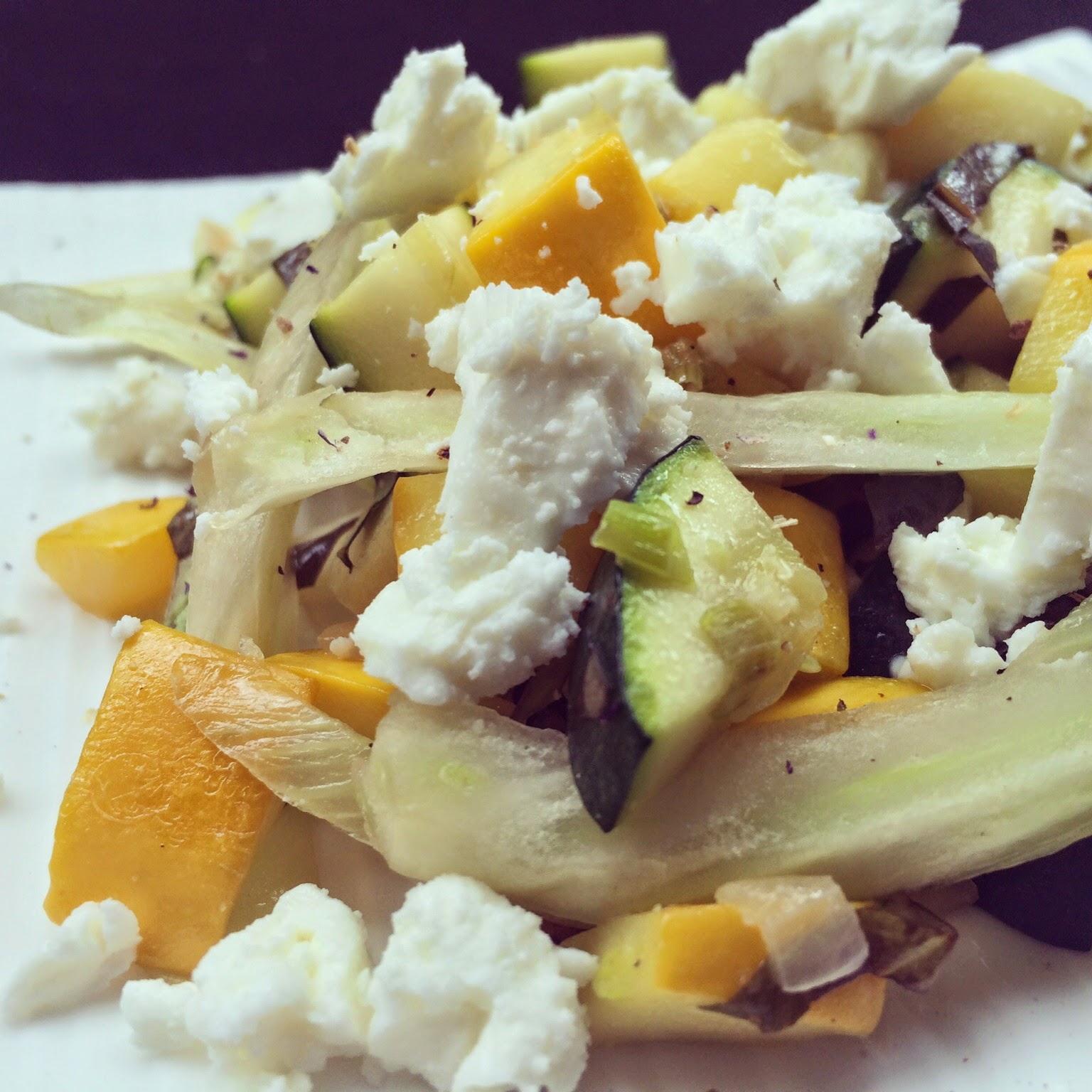 courgettes fenouil feta basilic