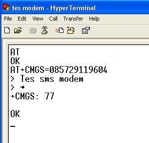 Tutorial Mengirim dan Menerima SMS dengan Wavecom Fastrack dan Mikrokontroler