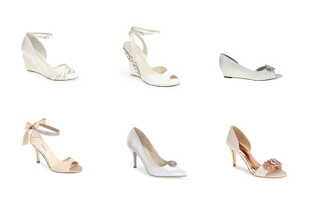 fformal and comfortable bridal shoe ideas
