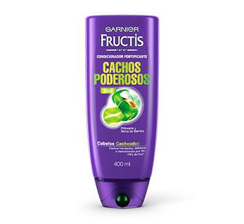 condicionador Garnier Fructis Cachos Poderosos