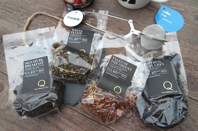 Quinteassential Teas Selection