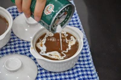Cách nấu chè đậu đỏ nước cốt dừa 4