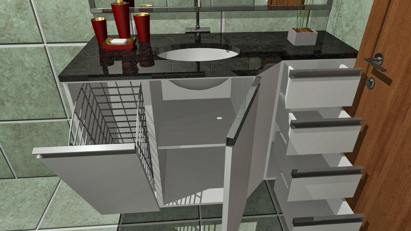 Designer de interiores: Projeto do Dia Cozinha e Banheiros diversos #693F22 1600 900