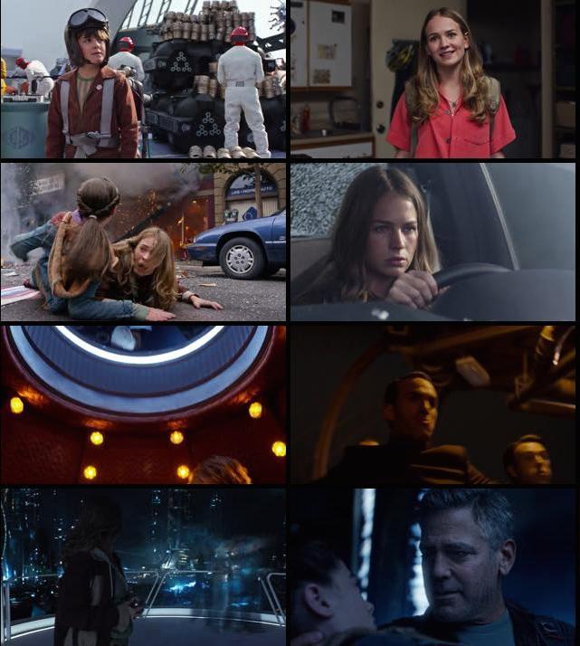 Tomorrowland 2015 BluRay 720p 800mb