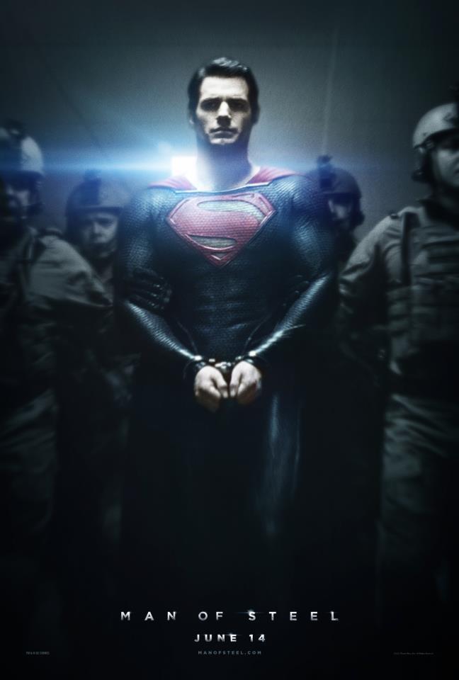 Henry Cavill como Superman en Man Of Steel de Zack Snyder