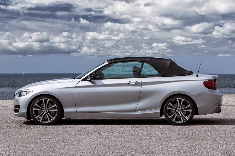 BMW 2 Series Convertible Sport (2015) Side