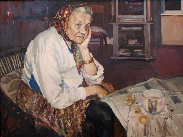 Екатерина Телегина, Портрет бабушки Феодосии, 2011