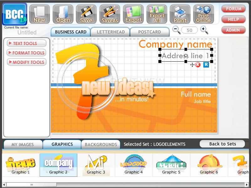 Designer about business card business card software laughingbird software reheart Images