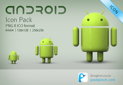 Google Android Icon Pack - Free Download