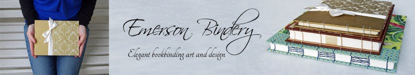 Emerson Bindery Anniversary Advice Wedding Guest Books