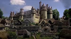 Camelot: ciudad fortificada