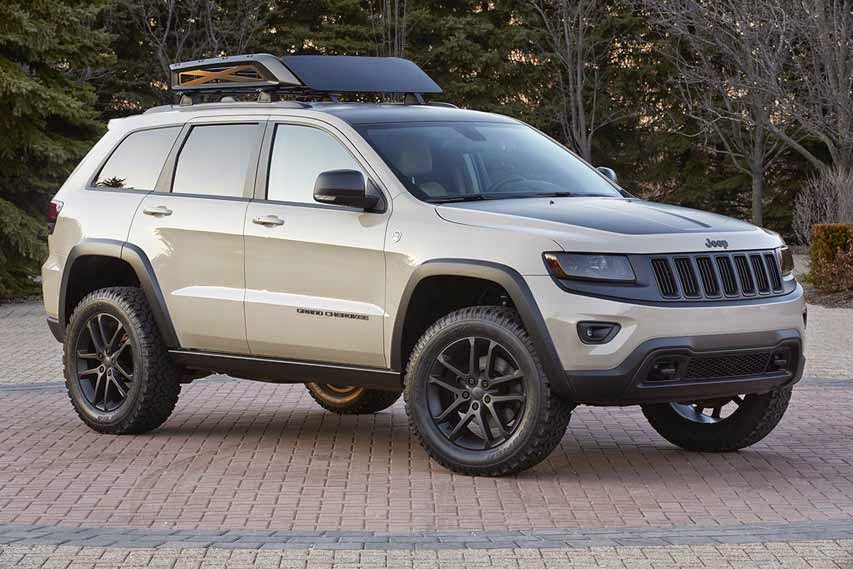 2014 New Jeep Grand Cherokee EcoDiesel Trail Warrior Concept