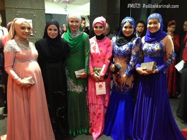 Adibah Karimah at Premium Beautiful Elegance performance