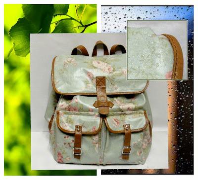 Женский рюкзак из водоотталкивающей ткани - подарок девушке, подарок подростку