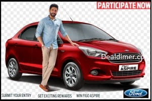 Win a Ford Figo Aspire Car + Change to Meet Farhan Akhtar