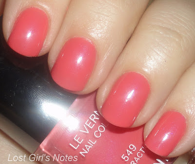 chanel roses ultimes collection distraction nail polish