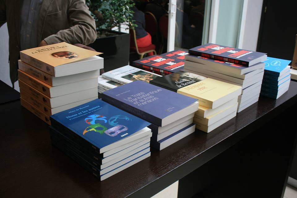 Les livres d'Alain de Benoist - Stand Cercle Pol Vandromme