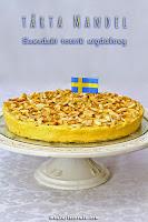 Tarta mandel - szwedzki torcik migdałowy