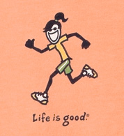 Life is Good for a Runner