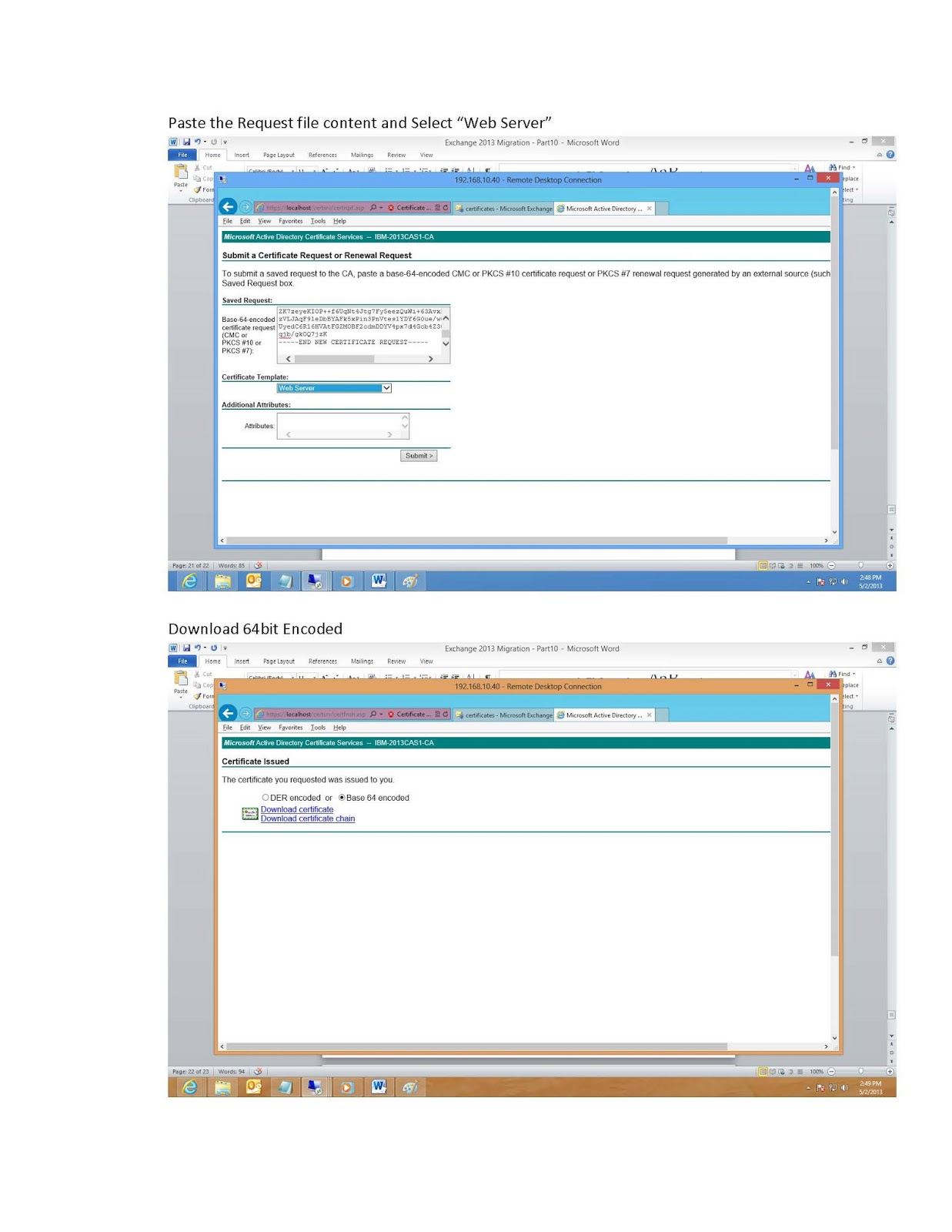 Microsoft technology technical blog exchange 2010 to 2013 migration refer below link for part7 test mailbox move and mail flow test yadclub Gallery
