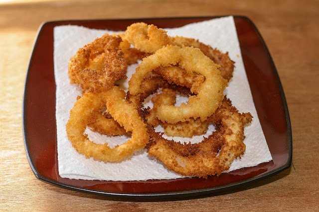 onion rings homemade