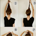 Messy Bun Hairstyles For Long Hair Step By Step