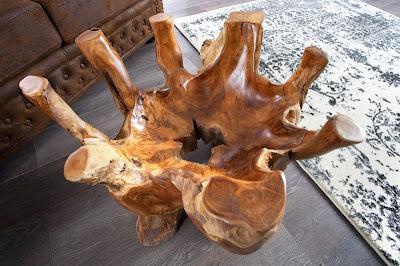 dreveny nabytok, natural dreveny stolik
