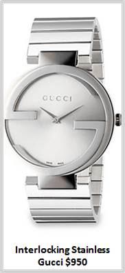 Sydney Fashion Hunter - Timeless Timepieces - Gucci Interlocking Stainless Steel Watch
