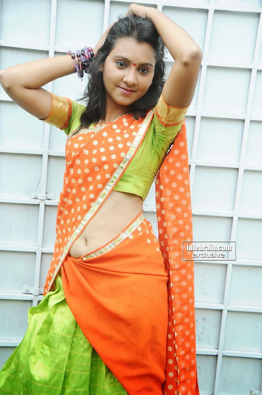 Angel indian actress navel