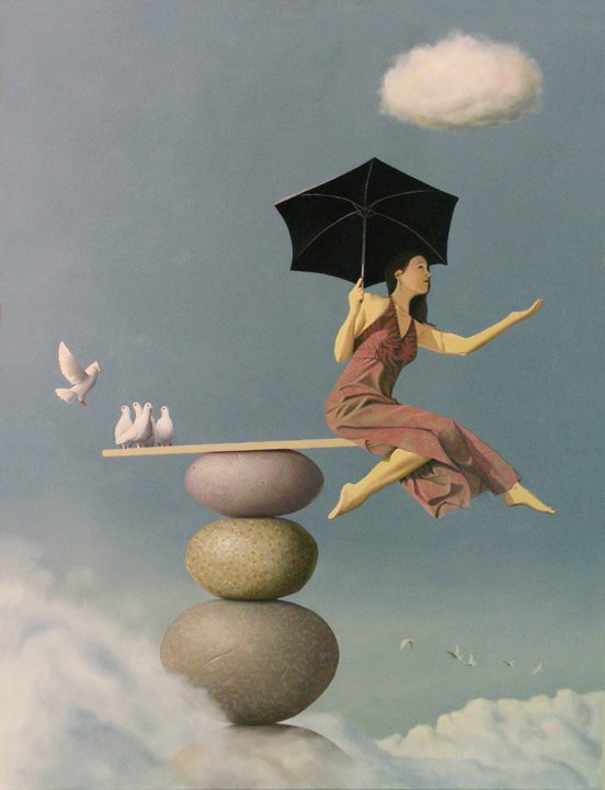 Paul David Bond 1964 | Surrealist painter