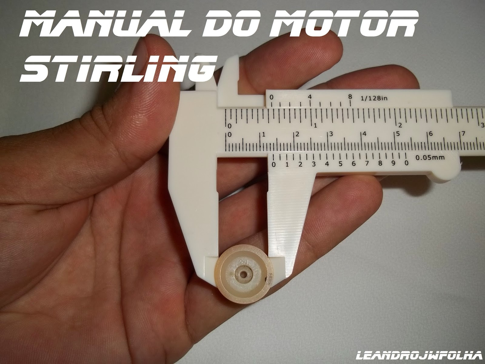 Manual do motor Stirling, polia do gerador