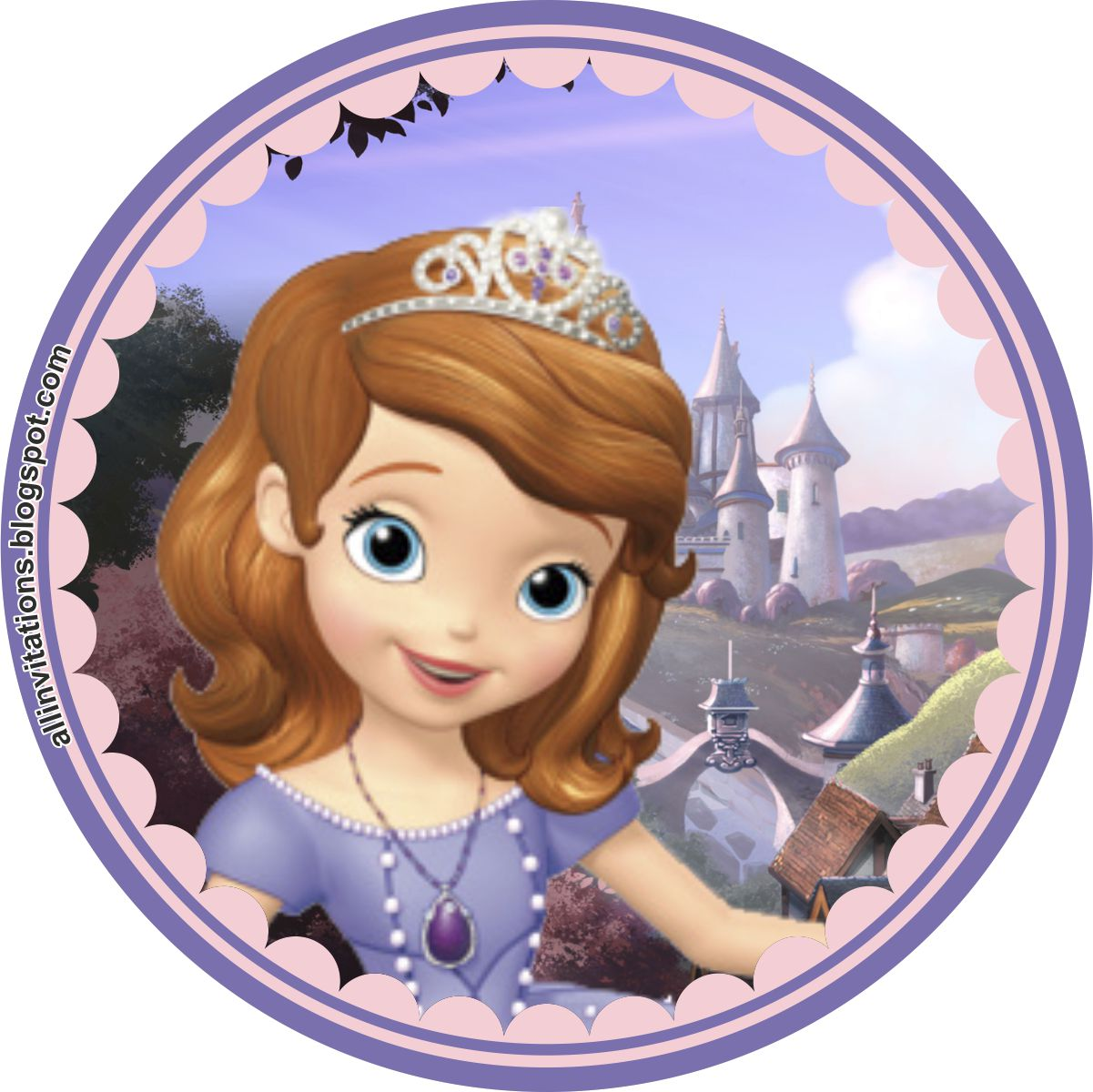 Princess sofia with lotion and answering questions 3