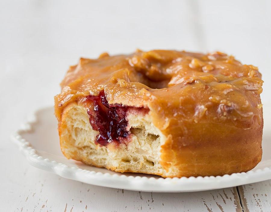 receta de donuts rellenos