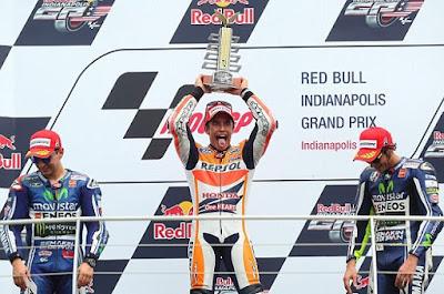 Jelang Indianapolis, Rossi - Lorenzo Akan Segera Dikejar Marquez