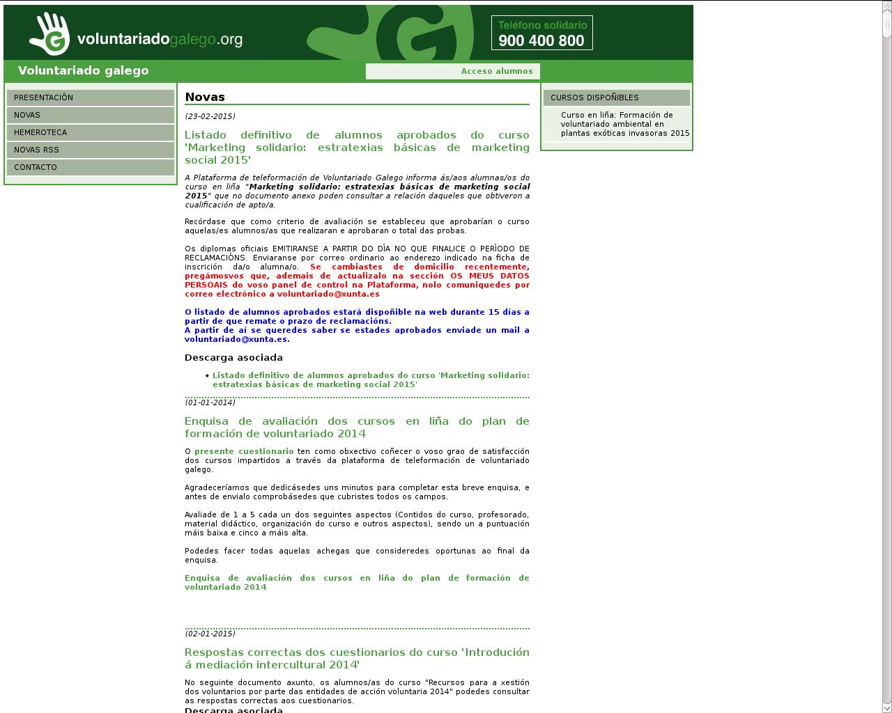 http://www.voluntariadogalego.org/voluntariado/index.php