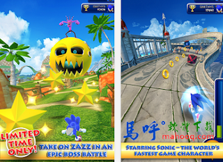Sonic Dash APK / APP Download,音速小子 Sonic Dash Android APP